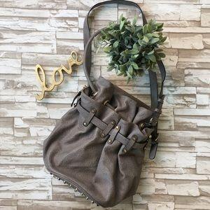 Camille Conceals Studded Shoulder Bag